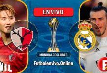 Kashima vs Real Madrid en VIVO Mundial de Clubes 2018