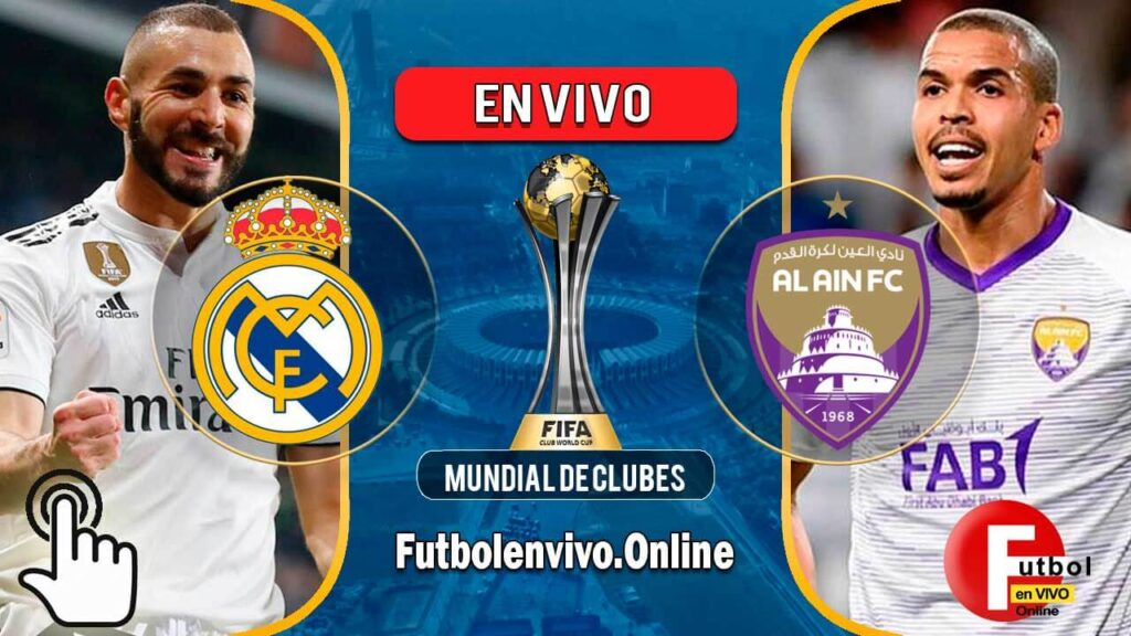 Real Madrid vs Al Ain FC en VIVO Mundial de Clubes