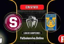 Saprissa vs Tigres en VIVO Liga de Campeones Concacaf