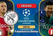 Ajax vs Tottenham en VIVO