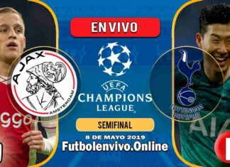Ajax vs Tottenham en VIVO