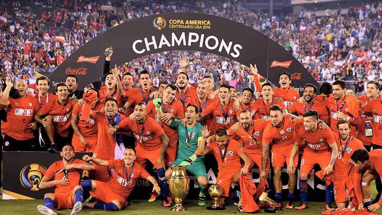 Chile es el último campeón de la Copa América